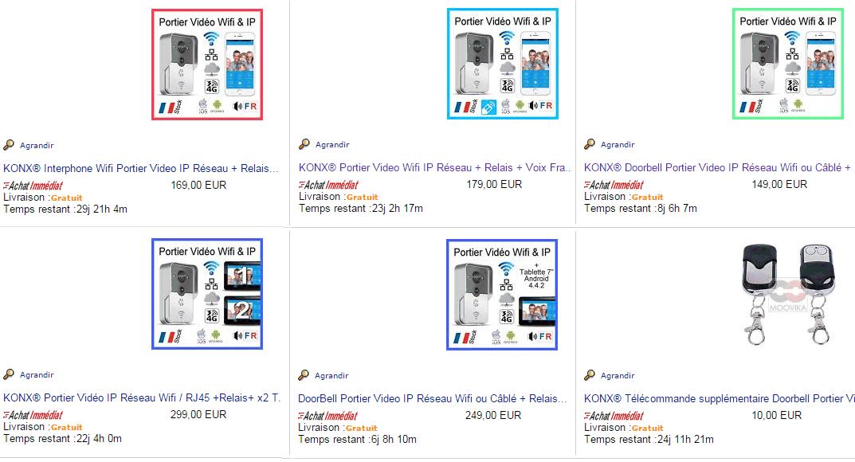 konx interphone wifi portier video ip r seau relais porte voix en fran ais. Black Bedroom Furniture Sets. Home Design Ideas