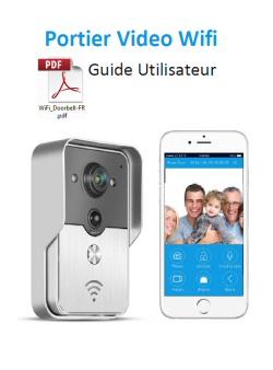 konx kw01 doorbell interphone portier video ip r seau wifi rj45 relais porte konx doorbell. Black Bedroom Furniture Sets. Home Design Ideas