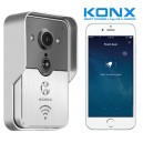 KONX KW01 Gen2 Portier Video IP Réseau Wifi Relais inclus